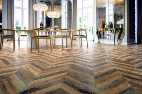 sàn gỗ tự nhiên xương cá